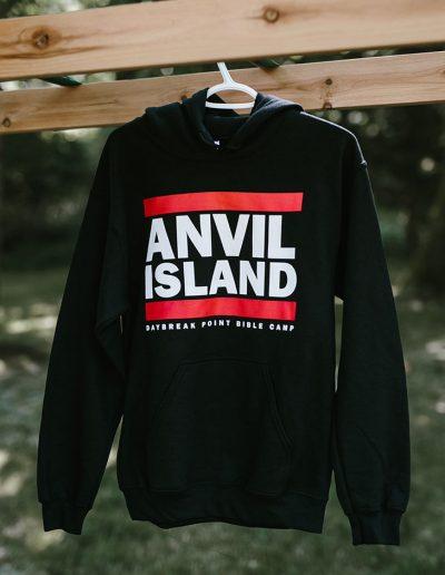 Black Anvil Island Hoodie