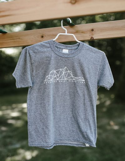 Youth Grey Geo Tee