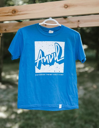 Yout Blue Logo Tee