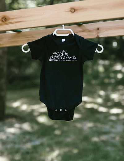 Toddler Black Onesie
