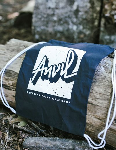 Navy Athletic Bag