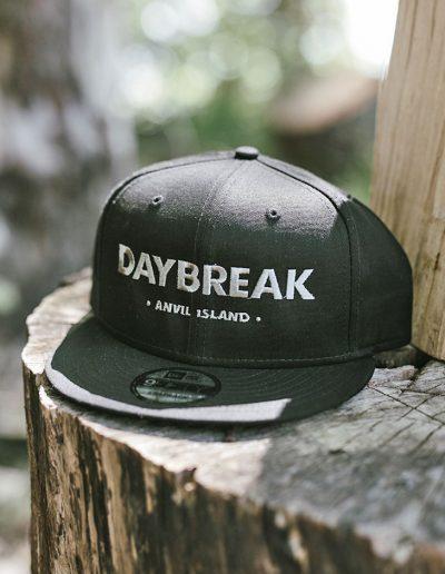 Black Daybreak Snapback